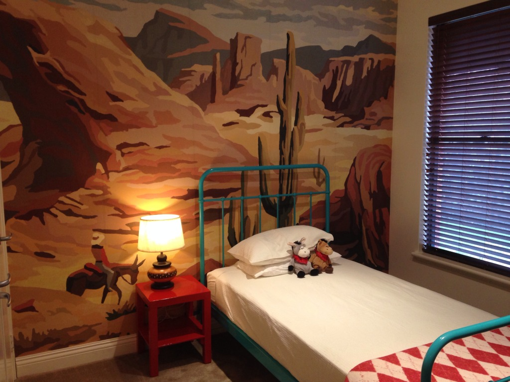 Wild child bedroom